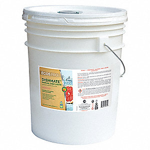 Liquid Dishwashing Detergent, 5 gal. Pail, 1 EA