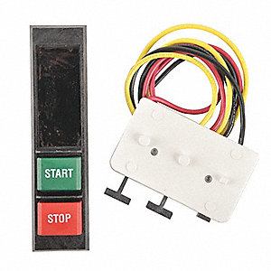 Push Button Kit, NEMA Rating: 1, For Use With Type 1 Enclosed Starters