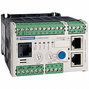 Motor Management System, Ethernet Modbus TCP Interface, 100 to 240VAC Control Voltage