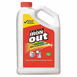 Rust Remover,Jug, 1Gal.