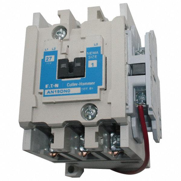 Eaton 480vac Nema Magnetic Contactor  No  Of Poles  3  Reversing  No  45 Full Load Amps