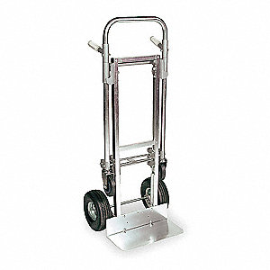 Convertible Hand Truck, Dual Grip, Overall Height 51-3/4""