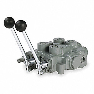 4 Ways Monoblock Hydraulic Directional Valve with 25 Flow Capacity (GPM)