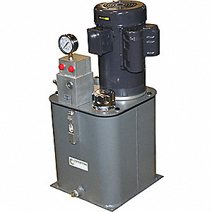 2 HP 115/230VAC Hydraulic Power Unit, 2000 psi 1.5 gpm