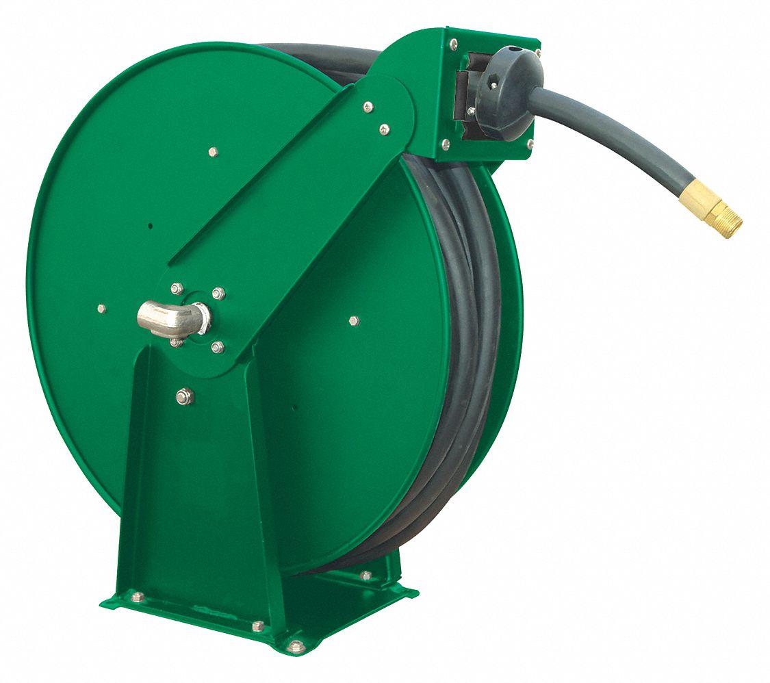 Spring Return Hose Reel, 300 psi Max. Pressure - 6WA74 6WA74 - Grainger