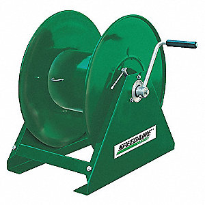 120 ft. Heavy Duty, Water/Oil Hose Reel, Black