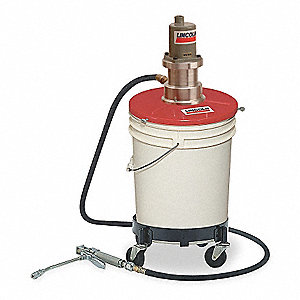 Grease Pump,25 to 50 lb. Containers,40:1