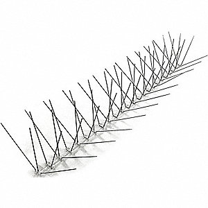 Bird Repellent Spikes, Weight: 5 lb., Used For Bird Control