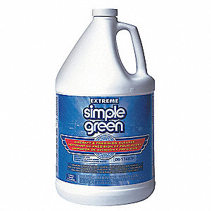 Cleaner/Degreaser, 1 gal. Jug, Unscented Liquid, Ready to Use, 1 EA