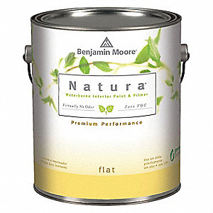 Flat Interior Paint, Water, Antique Lace, 1 gal.
