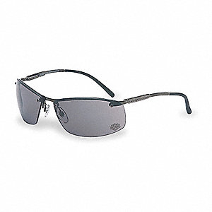 HD700 Scratch-Resistant Safety Glasses, Gray Lens Color