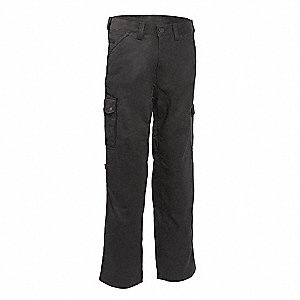 Uniform  Work Pant,Black,Size 42x34 In