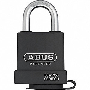 "Keyed Padlock,Different,2-1/4""W"