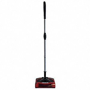 Battery Powered Sweeper,9-1/2""