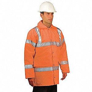 5-In-1 Parka,Men's,Hi-Vis Orange,4XL