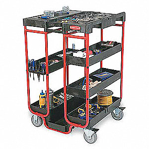 Ladder Cart, (4) Swivel