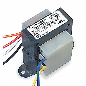 Class 2 Transformer, 40 VA Rating, 120/208/240VAC Input Voltage, 24VAC Output Voltage
