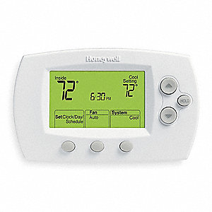 Low Voltage Thermostat, Stages Cool 1, Stages Heat 1