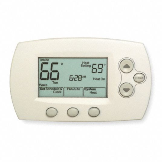 Honeywell Home Low Voltage Thermostat Stages Cool 2 Stages Heat 2 6wy13 Th6220d1028 Grainger