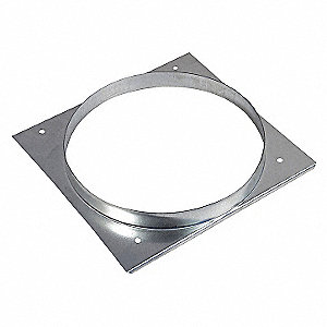 Round Duct Connector, 8 In.