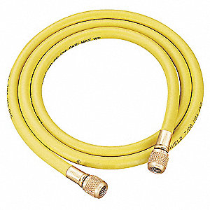 Charging/Vacuum Hose,36 In,Yellow