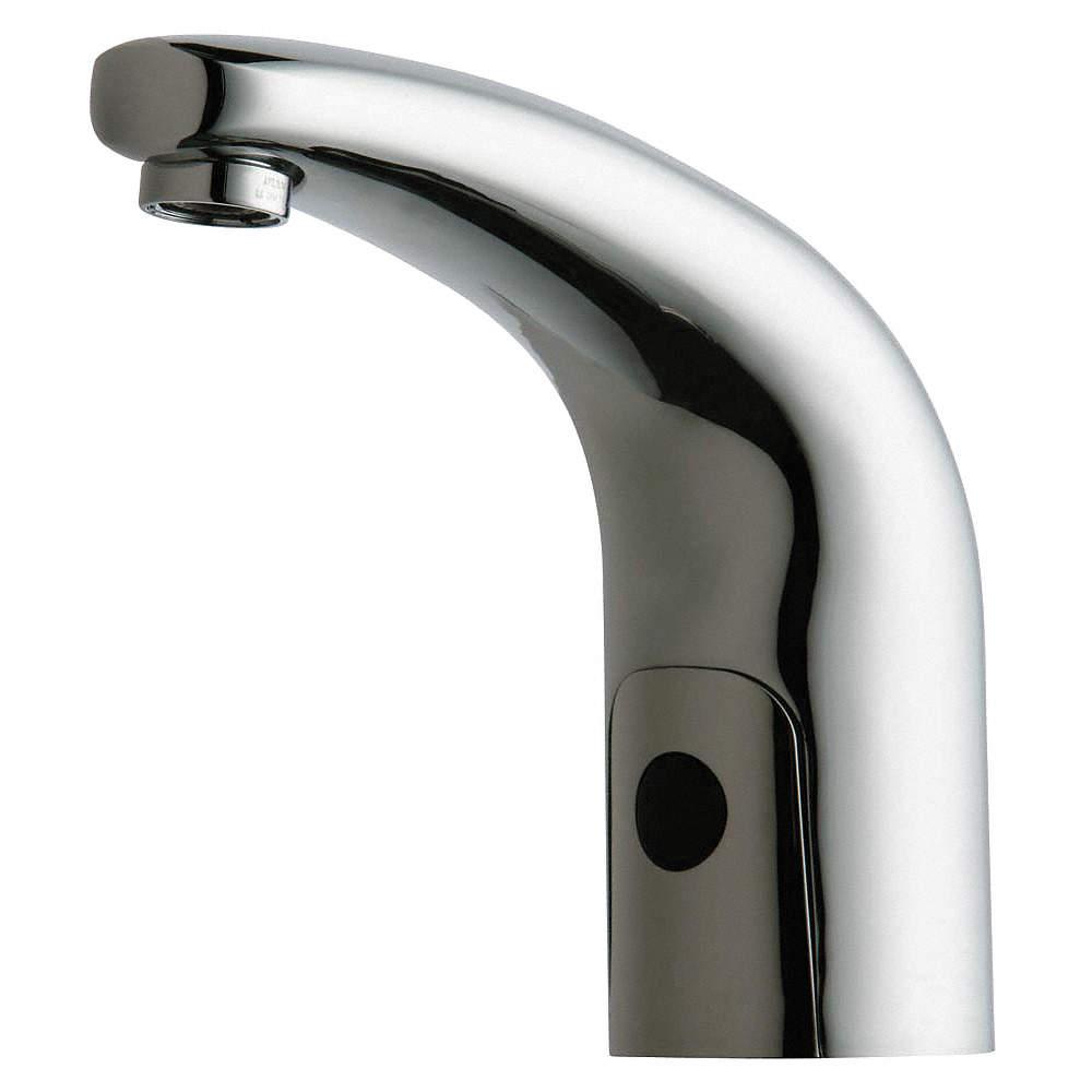 CHICAGO FAUCETS Brass Bathroom Faucet, Sensor Handle Type, No. of ...