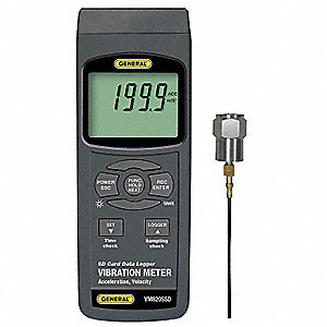 Vibration Meter w/Datalog SD Card
