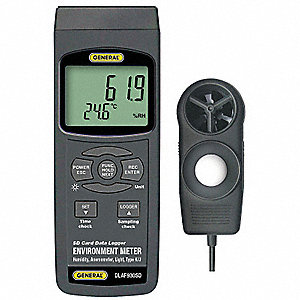 Environmental Meter, 32° to 122° Temp. Range (F)