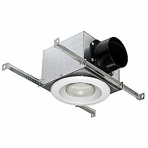 LED Vent Light,Plastic and Metal,White