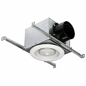 Fluorescent Vent Light,Plastic and Metal