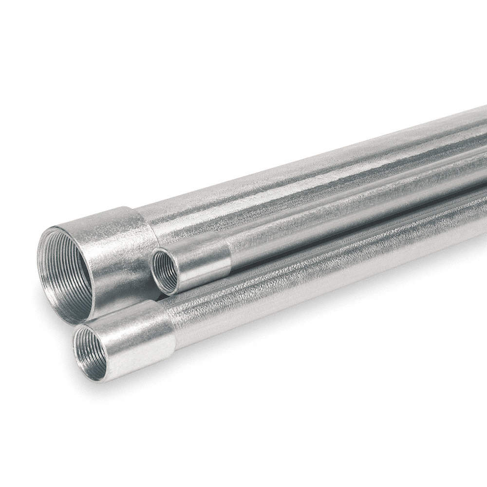 GRAINGER APPROVED IMC Galvanized Steel Conduit, Trade Size: 1/2 ...