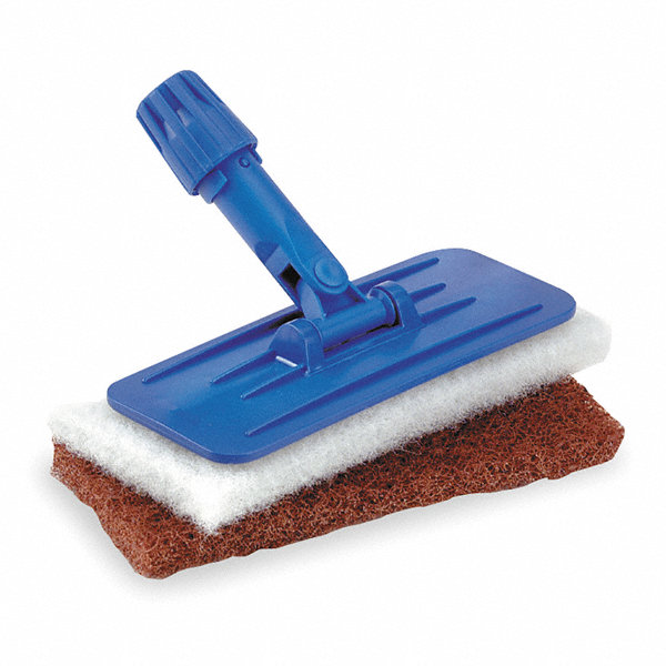 Paint Pad Dispenser ~ Tough guy blue swivel pad holder length quot width