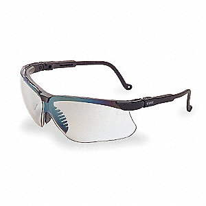 Genesis® Scratch-Resistant Safety Glasses, SCT-Reflect 50 Lens Color