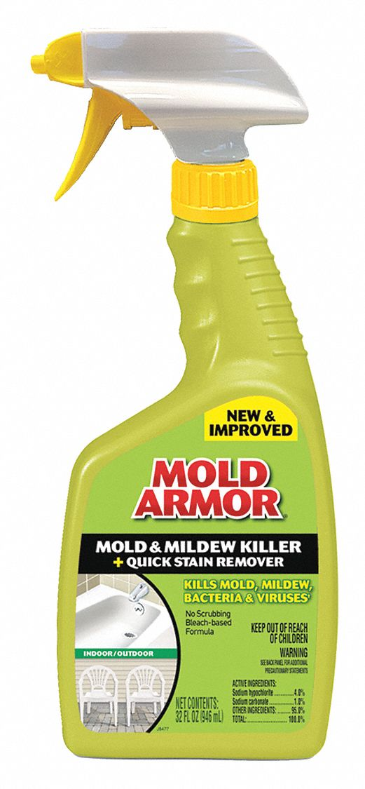 MOLD ARMOR Mildew and Mold Remover 32 oz Trigger Spray Bottle