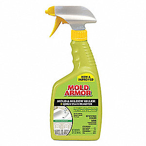 Mold Armor Mildew And Remover 32 Oz Trigger Spray Bottle Unscented Liquid 1 Ea 6xfg7 Fg502 Grainger