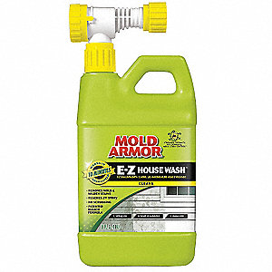 House Cleaner and Mildew Killer, 56 oz. Hose End Spray, 1 EA