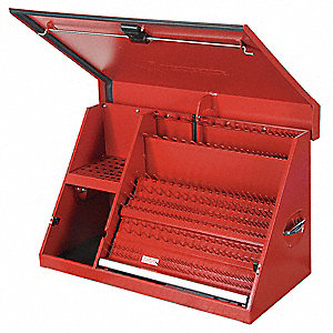 "Red Top Chest, 36"" Width x 17-3/8""  Depth x 21-1/2"" Height, Number of Drawers: 0"