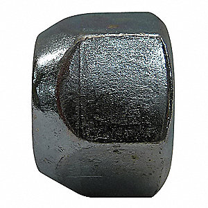 Wheel Nut,Hex Nut,1/2-20,5/8 In L,PK500
