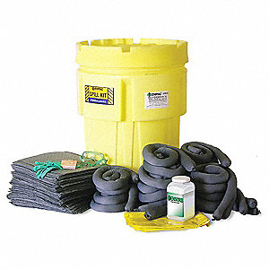 Spill Kit,Can,62 gal.,Oil Only