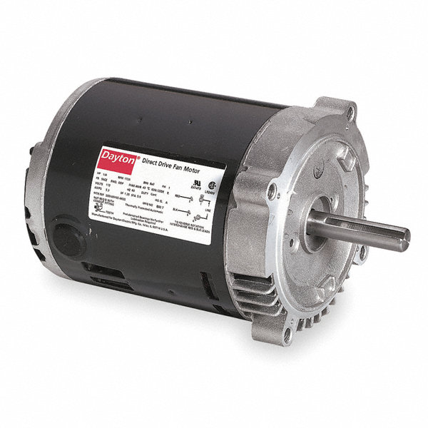 Dayton 1 6 1 15 hp belt drive motor split phase 1140 for General motors extended warranty plans