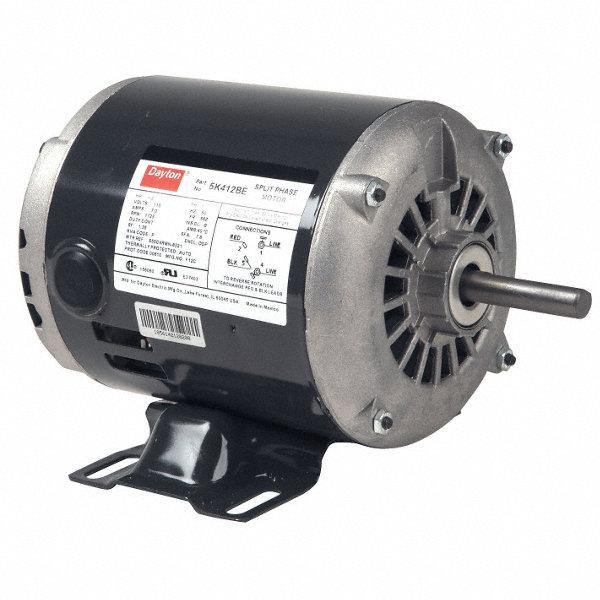 Dayton 1 2 Hp General Purpose Motor Split Phase 1725