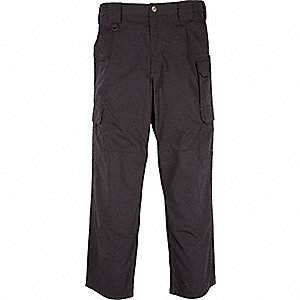 "Men's Taclite Pants. Size: 50"", Fits Waist Size: 50"", Inseam: 39-1/2"", Black"