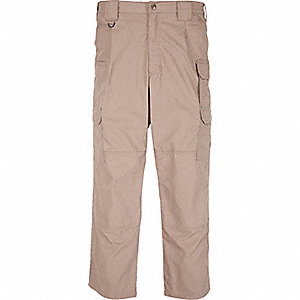 "Men's Taclite Pants. Size: 48"", Fits Waist Size: 48"", Inseam: 39-1/2"", Coyote"