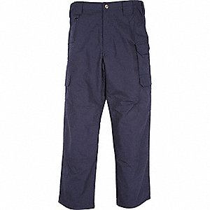 "Men's Taclite Pants. Size: 52"", Fits Waist Size: 52"", Inseam: 39-1/2"", Dark Navy"