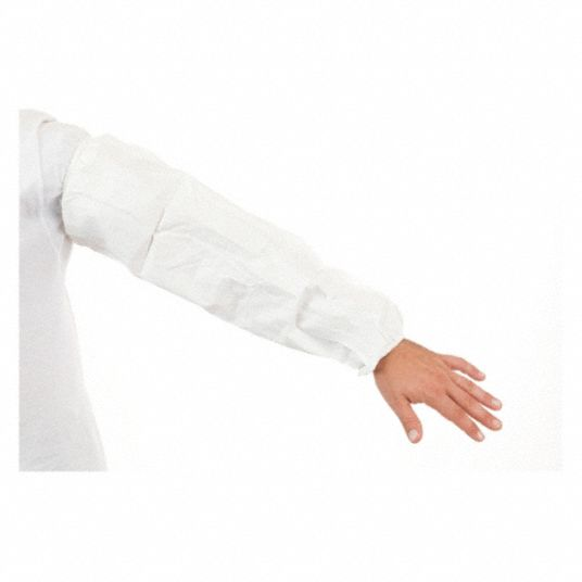 Disposable Sleeve,  White,  PK 200