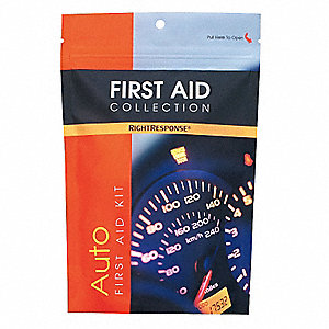 First Aid Kit,Bulk,Red,33 Pcs,1 People