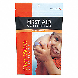 First Aid Kit, Kit, Plastic Case Material, Children Care, 1 People Served Per Kit