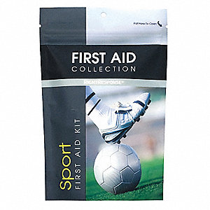 First Aid Kit, Kit, Plastic Case Material, Sports, 1 People Served Per Kit