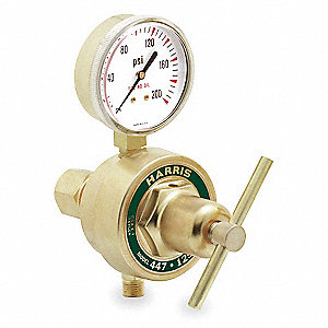 "447 Series, Gas Regulator, Single Stage, 0 to 125 psi, 1/4"" FNPT Inlet Connection"
