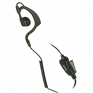 ONE WIRE EARLOOP-EARBUD WITH INLINE MIC